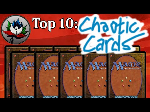 MTG – Top 10 Most Ridiculous/Crazy/Chaotic Magic: The Gathering Cards Ever Printed!