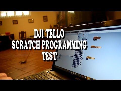 Dji Tello - Ryze Tech - Scratch programming test