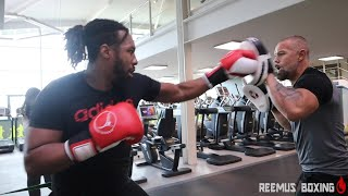 ELITE STRENGTH AND CONDITIONING WORK VLOG - WITH HEAVYWEIGHT RYAN CHARLES (BOXING VLOG)