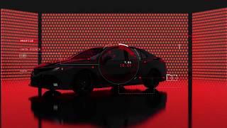 Рекламный ролик автомобиля (Cinema4d,Redshift)