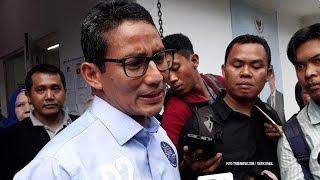 Sandiaga Uno Ungkap Bahan Debat Cawapres dari Keluhan Rakyat Bukan Isu Elit