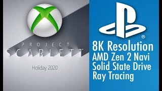 Project Scarlett Sounds A LOT Like PS5.. What Does This Mean for Sony?