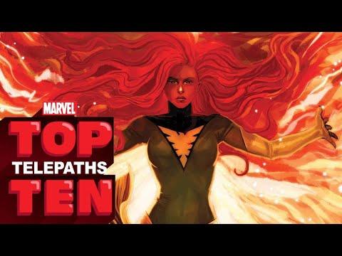 Top 10 Telepaths — Marvel Top 10