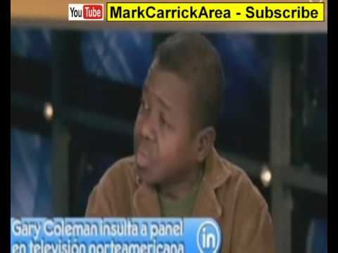 Gary Coleman Dies. Last Interview With Lisa bloom loses his temper over violence abuse claims