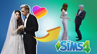 СВАДЬБА ЭЛИНЫ и МАСЕЯ! 😭 Топовые лайкеры в Sims 4
