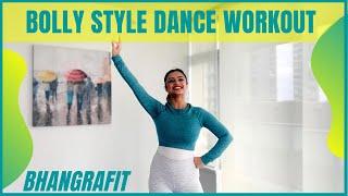 Bollywood Dance Workout At Home   20 Minutes Fat Burning Cardio   BhangraFit   DJ Amit