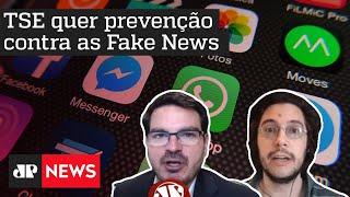 Fake news são ameaça à democracia? Constantino e Joel debatem