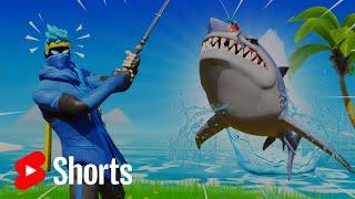 FORTNITE SHARK ATTACK! | NINJA #SHORTS