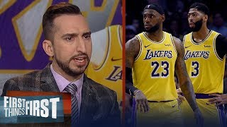 Anthony Davis can be No. 1 in name but LeBron still runs Lakers offense   NBA   FIRST THINGS FIRST