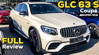 2019 MERCEDES AMG GLC63 S Coupé FULL REVIEW BRUTAL Exhaust Exterior Interior