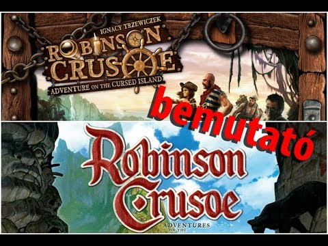 Robinson Crusoe: Adventures on the Cursed Island - társasjáték bemutató - Jatszma.ro