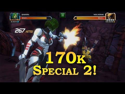 Gamora vs ROL WolverineMarvel Contest of Champions