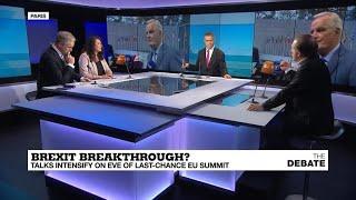 Brexit breakthrough? Talks intensify on eve of last-chance EU summit