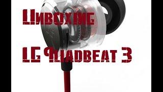 Unboxing  - LG Quadbeat 3 [GERMAN]