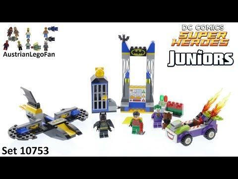 Vidéo LEGO Juniors 10753 : L'attaque du Joker de la Batcave