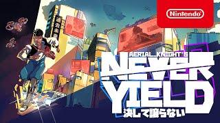 Nintendo Aerial_Knight's Never Yield - Announcement Trailer - Nintendo Switch anuncio