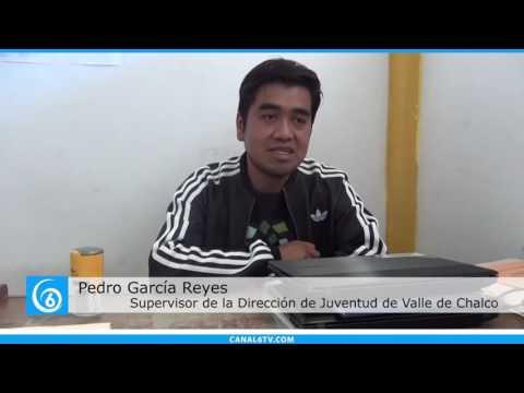 Trabajos de la Dirección de Juventud en Valle de Chalco