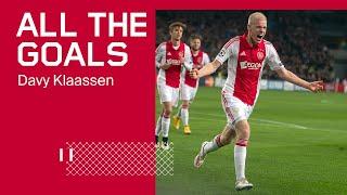 ALL THE GOALS - Davy Klaassen