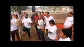 Kerala Laughter Yoga Sunil Kumar Practice at Kochi International Stadium