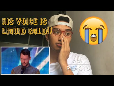 Calum Scott Dancing On My Own by Robyn Britains Got Talent 2015 Audition REACTION (видео)