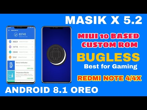 Masik X MIUI 10 For Redmi Note 4/4X And Other Supported
