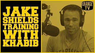 Jake Shields talks with Robert Whittaker about training with Khabib Nurmagomedov