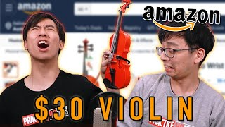 We Try the Cheapest (and most useless) Violins from Amazon