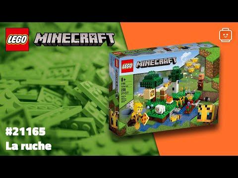 Vidéo LEGO Minecraft 21165 : La ruche