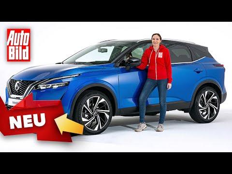 Nissan Qashqai (2021) | Erster Check im neuen Qashqai | Sitzprobe mit Katharina Berndt