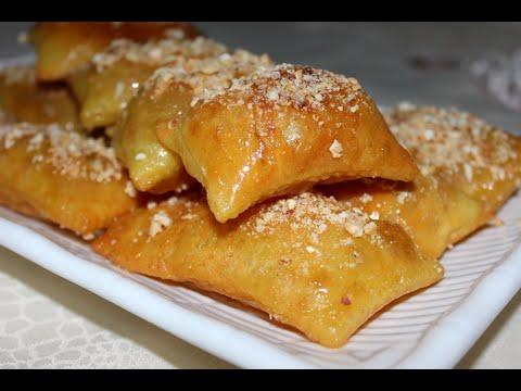 حلويات رمضان: رغايف مقليين مقرمشين بالعسل