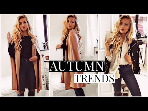 AUTUMN TRENDS You Can ACTUALLY WEAR EVERYDAY! / FALL 2018