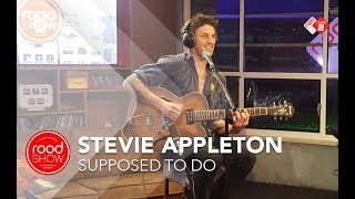 Stevie Appleton -  'Supposed To Do' live @ Roodshow Late Night