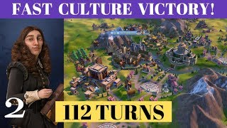 Part 1 - Turn 112 Fast Culture Victory (Deity) - Sweden