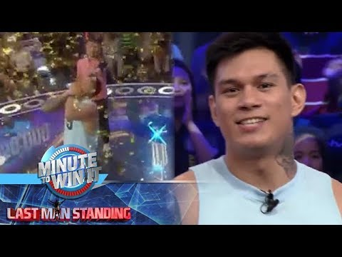 Minute To Win It - Zeus Collins is the new millionaire of Minute To Win It Last Man Standing!