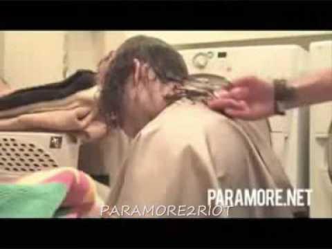 PARAMORE taylor's hair cut
