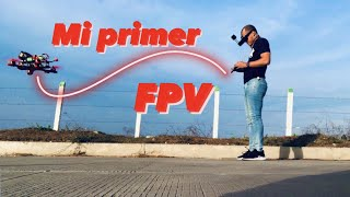 Mi primer vuelo en FPV con un Drone de carreras