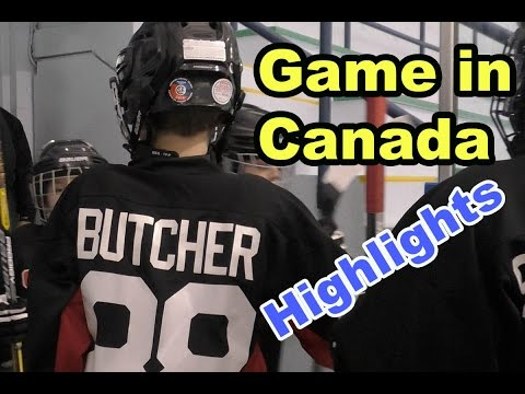 HoCkey KiDs Game in Canada Niagara on the Lake