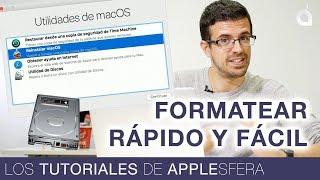 CÓMO FORMATEAR UN MAC BIEN, RÁPIDO Y FÁCIL | Los Tutoriales de Applesfera