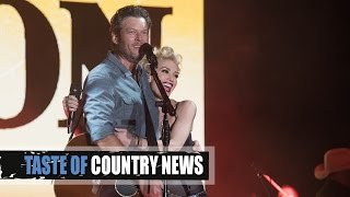 Gwen Stefani Brings Sexy to Blake Shelton's 40th Birthday