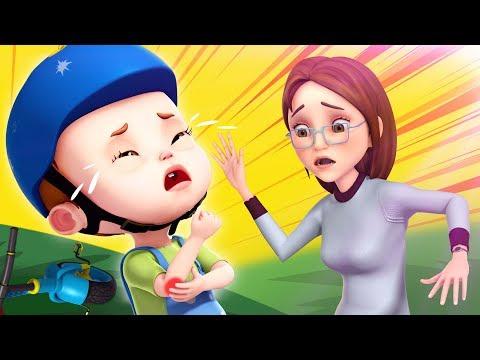 Boo Boo Song - 2   + More Nursery Rhymes & Kids Songs   Baby Ronnie Rhymes
