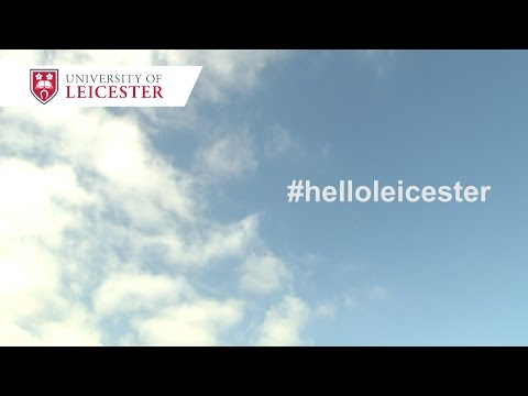 Welcome to the University of Leicester 2015