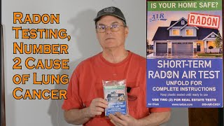Radon Testing. Helping to prevent lung cancer.