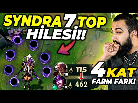 EFSANE 7 TOP HİLESİ!! 4 KAT HASAR VE FARM FARKI ZA SERİSİ SYNDRA!! | Barış Can