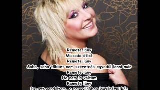 Zoltán Erika - Remete lány (dalszöveg)