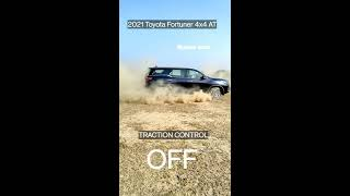 2021 Toyota Fortuner 4x4 AT #shorts #tractioncontrol #2021toyotafortuner#toyota #fortunersuv