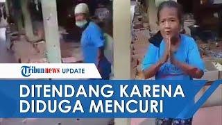Viral Video Nenek Ditendang dan Dimarahi karena Diduga Mencuri