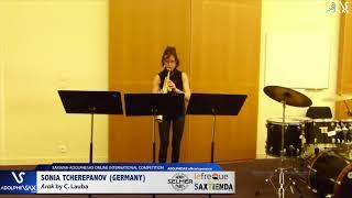 Sonia TCHEREPANOV plays Arak by C. Lauba #adolphesax
