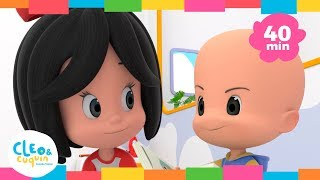 EN LA GRANJA DE MI TÍO Y Más Canciones Infantiles De Cleo & Cuquín | Familia Telerín