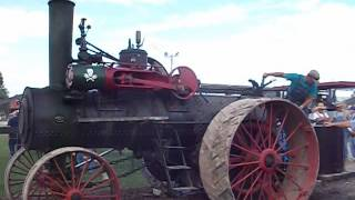 Midwest Old Threshers steam traction engine