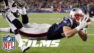 #8 Rob Gronkowski   Top 10 Tight Ends of All Time   NFL Films